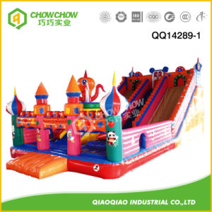 Castle Inflatable Childern Toy for Amusement Park with Slide pictures & photos