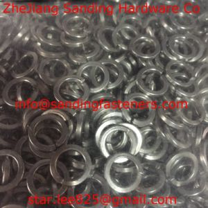 Carbon Steel Zinc Plated 200hv Flat Washer/Spring Washer/Square Washer pictures & photos