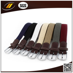 New Style Braided Elastic Mens Belt (HJ5116)