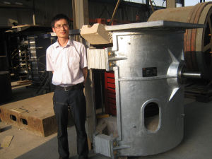 High Frequency Induction Heating Machine Screw Welding Furnace pictures & photos
