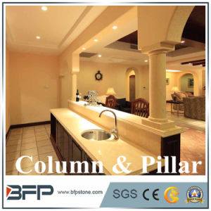 Round Marble Columns Marble Column and Pillars for Decoration pictures & photos