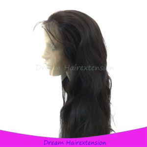 Bleach Knot Unprocessed Human Hair Wig Full Lace Front Wigs pictures & photos