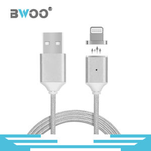 Best Selling 3 in 1 Magnetic USB Data Cable with Lighting, Micro, Type-C Pin pictures & photos