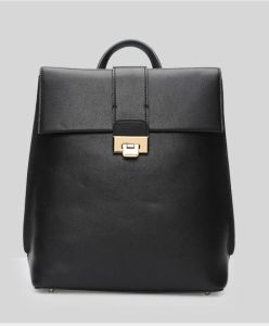 2017 Single Color Backpack Simple Style Trendy Bag Hcy-4039 pictures & photos