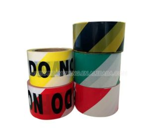 Without Back Adhesive Stripe Warning Tape Safety Products PE Tape pictures & photos