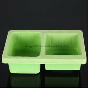 PP Green Flocking Hardware Blister Packaging Tray pictures & photos