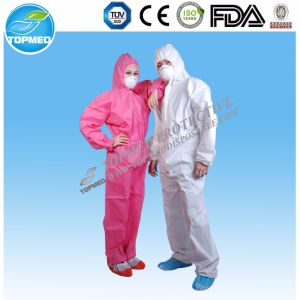 Disposable Waterproof PP+PE Jump Suit Work Suit Working Coverall pictures & photos