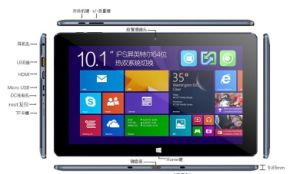 Win 8/10 Android 5.1 IPS Quad Core 2 in 1 2g/32g Laptop pictures & photos