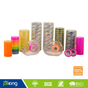 Color Stationery BOPP Adhesive Tape for School and Office Use pictures & photos