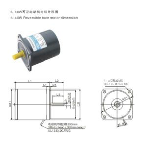AC Gear Motor Reversible Motors pictures & photos