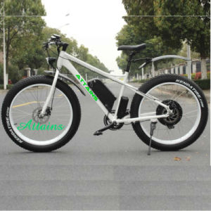 Hot Sale 26inch Powerful Motor Mountain Fat Tire Electric Bike pictures & photos