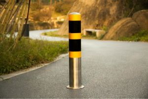 Stainless Bollard with Reflective Color pictures & photos