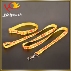 Silkscreen Printed Dog Collars and Dog Leash for Promotion pictures & photos