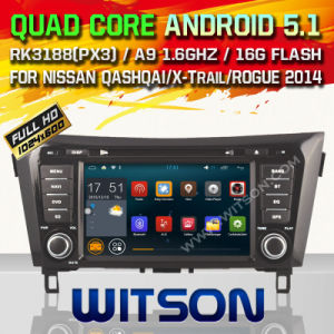 Witson Android 5.1 Car DVD for Nissan X-Trail 2014 (W2-F9908N) pictures & photos