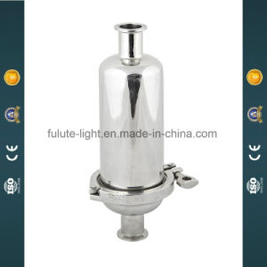 Stainless Steel Sanitary Straight Pipeline Filter pictures & photos
