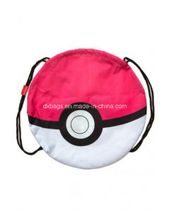 Pokemon Pokeball Drawstring Bag, White/Red pictures & photos