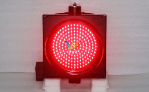 High Quality 200mm Red Signal Mini Single LED Traffic Light pictures & photos