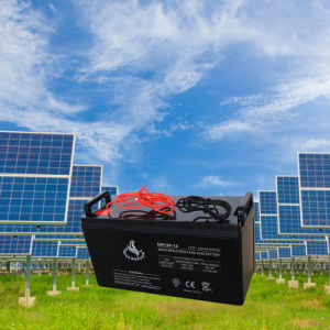 12V 120ah AGM Lead Acid Battery for Solar pictures & photos