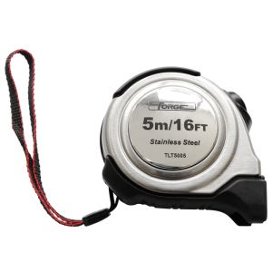 5m Auto Lock Steel Tape Measure with Nylon Coated Dual Blade pictures & photos
