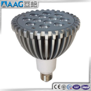 Rounded and Square Shape Aluminum/Aluminium Heatsink for LED pictures & photos