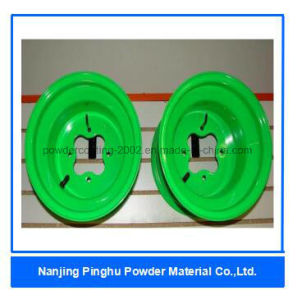 Neon Green Thermoset Powder Coating and Paint pictures & photos