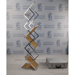 Easy Foldable Brochure Holder Magazine Rack pictures & photos