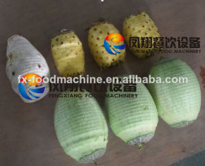 Automatic Stainless Steel Fruit Peeling Machine/Coconut Peeler Fxp-99 pictures & photos
