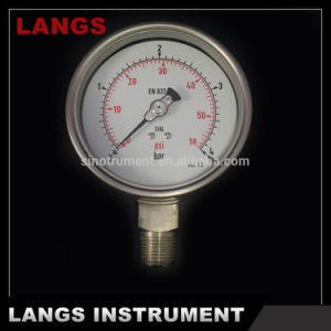 009 100mm Wika Type Ss Pressure Gauge pictures & photos