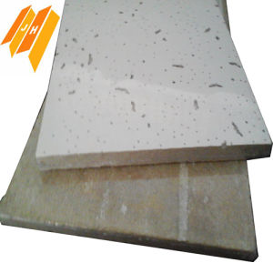 Bevealed/Sqaure Edge Mineral Wool Ceilings (mineral fibre 610*610mm) pictures & photos