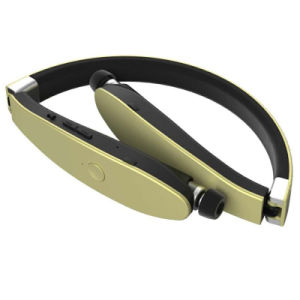Foldable Neckband Retractable in Ear Bluetooth Headphones pictures & photos