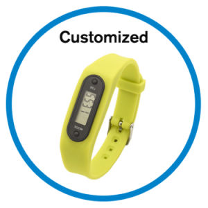 Silicone Step Counter Watches pictures & photos