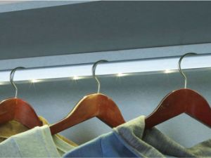 Marvelous Elastic LED Closet Rod Light Wardrobe Light