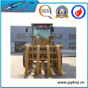 Mini Farm Wheel Loader, Grass Grabber Wood Grabber Xd912g pictures & photos