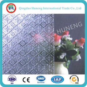 Clear and Colored Pattern Glass with ISO SGS Certification pictures & photos