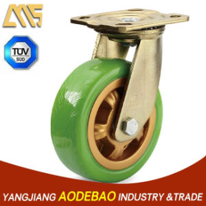Heavy Duty Swivel PU Caster Wheel