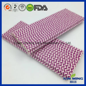 Party Decoration Eco Friendly Purple Paper Straw pictures & photos