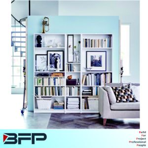 White Bookcase Living Room Furniture pictures & photos