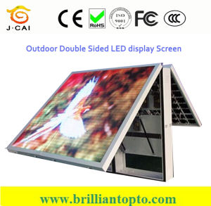 Front Maintenance P10 LED Sign Board for Outdoor Advertising Use pictures & photos