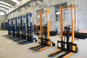 Hydraulic Hand Forklift Pallet Stacker Jo pictures & photos