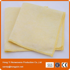 Super Absorbent Printed Stitch Bond Cleaning Cloth pictures & photos