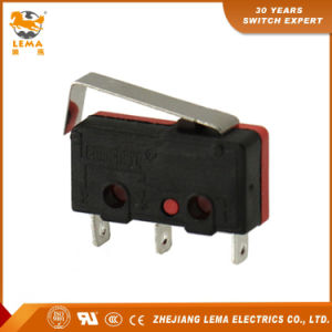 Lema 5A Black and Red Kw12-7 Micro Switch pictures & photos