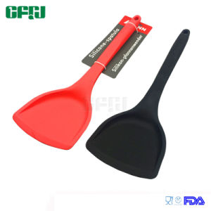 Kitchenware Manufacturer Solid Silicone Turner Spatula for Nonstick Pan pictures & photos