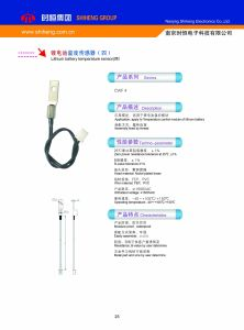 Lithium Battery Ntc Temperature Sensor pictures & photos
