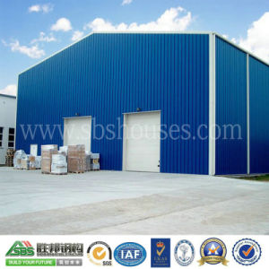 Light Professional Prefabricated Steel Structure Warehouse Building pictures & photos