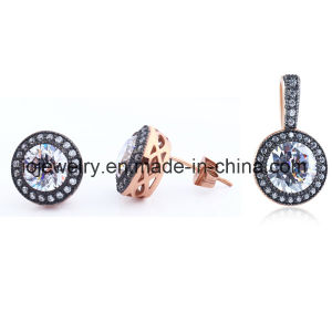 Fashion Jewelry Set Steel Jewelry Rose Gold Jewelry pictures & photos