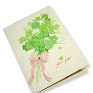 Full Color Printed Offset Printing Customizd Greeting Card pictures & photos