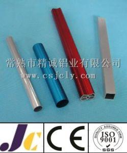 Bright Silver Anodized Aluminum Pipe, Round Aluminum Pipe (JC-C-90040) pictures & photos