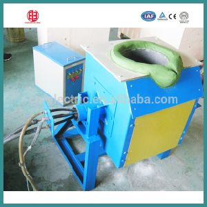 Easy Used IGBT Small Induction Melting Furnace with Long Induction Coil pictures & photos