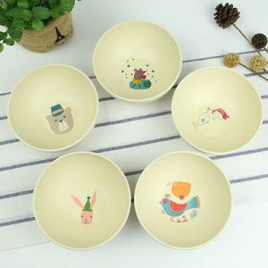 SGS Approved Eco Bamboo Fiber Kitchenwareware Bowl (YK-B3008) pictures & photos