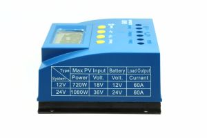 60AMP 12V/24V Solar Panel Cell PV Charge Controller G60 pictures & photos